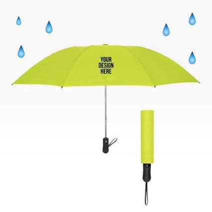 neon inverted umbrella