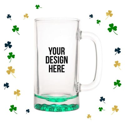 St. Patrick's Day beer mugs