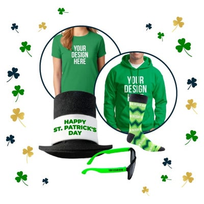 custom clothing for St. Patrick's Day