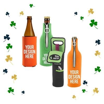 custom koozies for St. Patrick's Day
