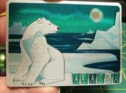 Alaska refrigerator magnets
