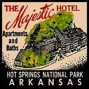 Arkansas refrigerator magnet