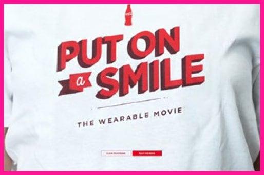 Coca-Cola Wearable Movie shirts
