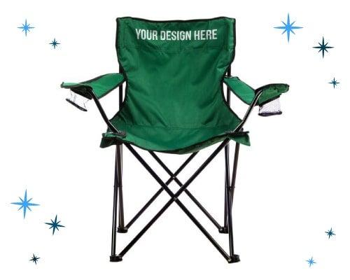 custom camping chairs