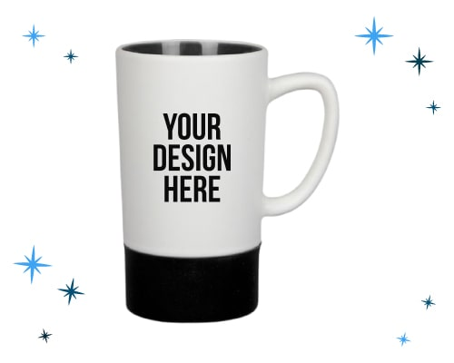 custom tall ceramic mugs