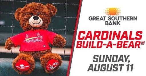 St. Louis Cardinals build-a-bear giveaway