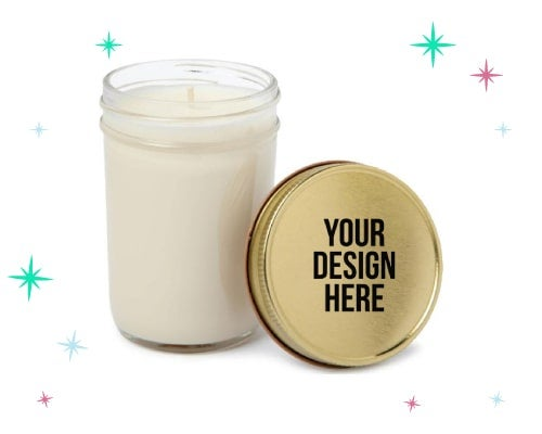 personalized scented candles