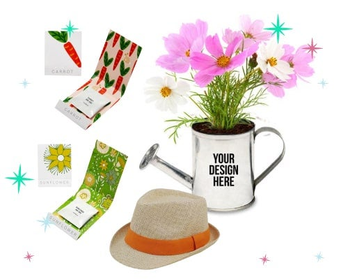 personalized gardening gift sets