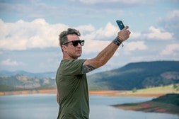 host a selfie contest on social media