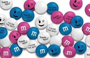personalized M&Ms