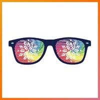 sunglasses with colorful lenses