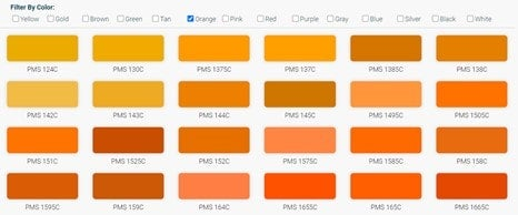find your PMS color match