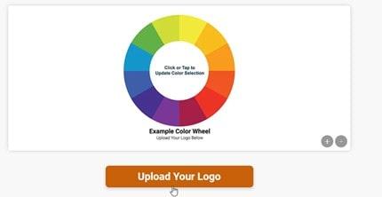 upload logo for PMS color match