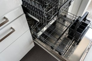 wash coffee mugs in the dishwasher to remove photos