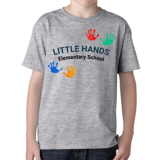 custom t-shirts for schools