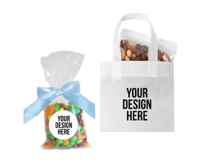 custom treat bags for trade shows