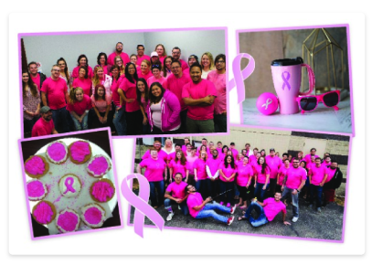 PIN BADGE DONATION TO /'AGAINST BREAST CANCER/'       209 CHARITY  PINK RIBBON