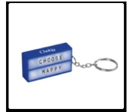 Cinema Box Keychain