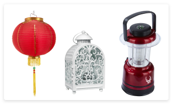 How Are Lanterns Decorated?