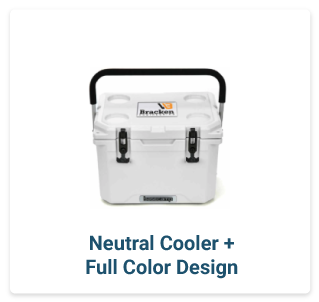 Neutral Cooler + Full Color Design