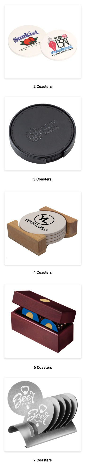 Try a Coaster Set