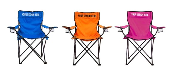 Colorful Chair with White or Black Ink