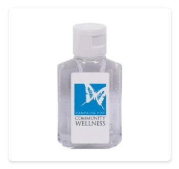 Mini Gel Hand Sanitizer