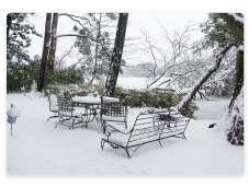 Can I Leave My Patio Furniture Outside in the Winter?