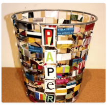Spruce Up Your Trash Can