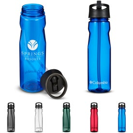 Columbia Tritan Water Bottle with Straw Top (25 Oz.)