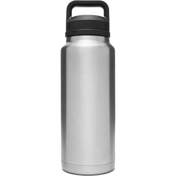 Stainless Steel YETI Rambler Bottle with Chug Cap