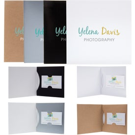 Paper CD/DVD Business Card Folio