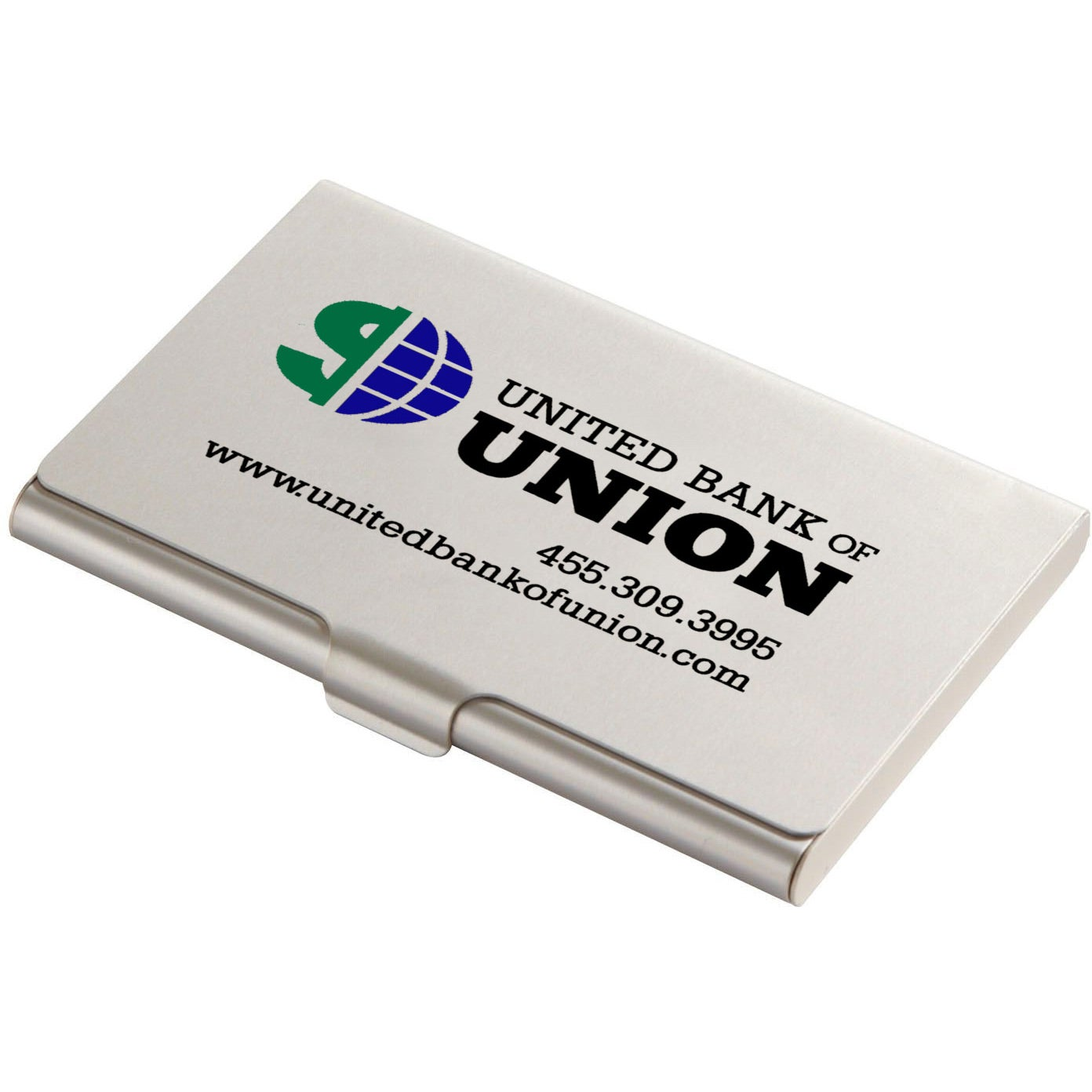 Promotional Slim Card Holders with Custom Logo for $1.95 Ea.