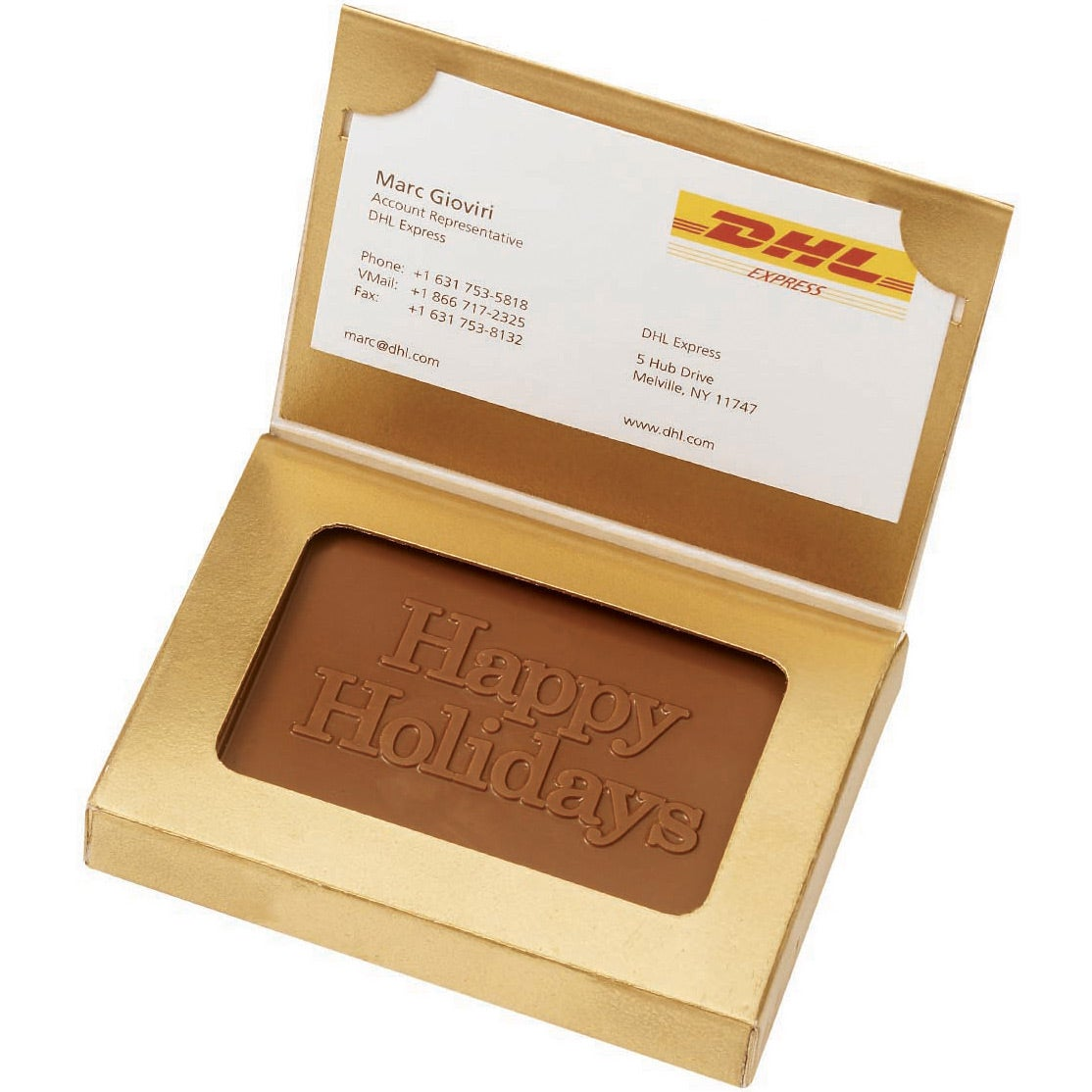 Promotional wrapped chocolate business card holders with custom logo wrapped chocolate business card holder company colourmoves