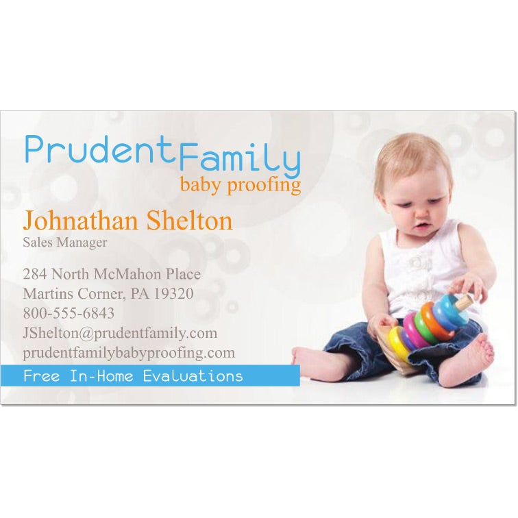 Promotional 1 Sided Standard Business Cards With Custom Logo For