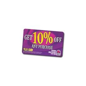 Lightweight Plastic ID or Membership Cards