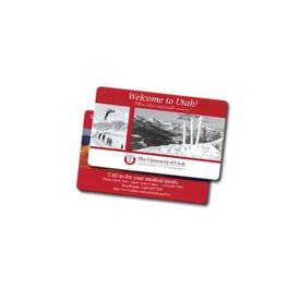 "Vinyl Plastic Card (0.02"" Thick)"