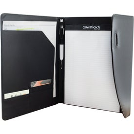 Bermuda Executive Padfolio Imprinted with Your Logo