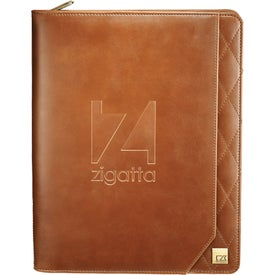 Cutter and Buck Bainbridge Zippered Padfolio