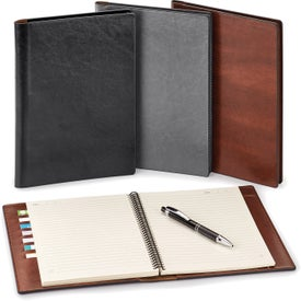 Fabrizio Padfolio and Refillable Eco Notebook