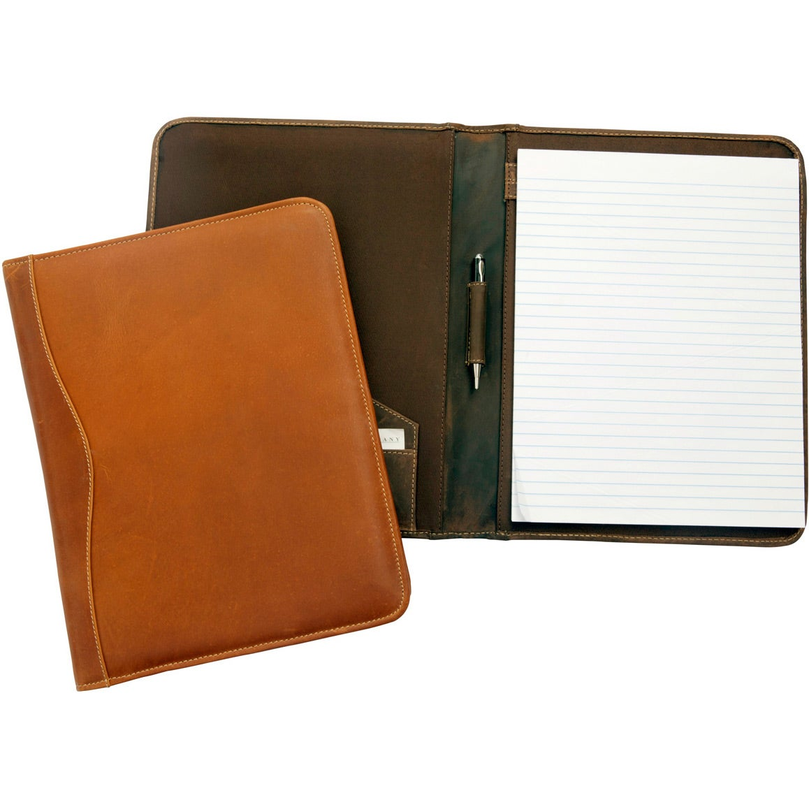 Promotional Salt River Canyon Leather Meeting Folders with Custom ...