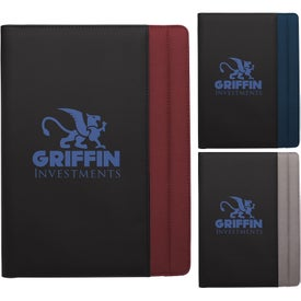 Vertical Stitch Padfolio