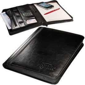 Alpha Zip-Around Portfolios with Tablet Case and Calculator