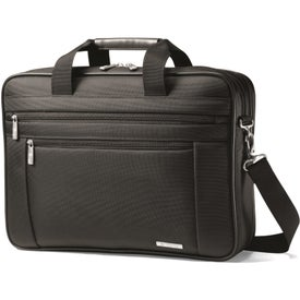 Samsonite Classic Business Perfect Fit Two Gusset Computer Portfolios