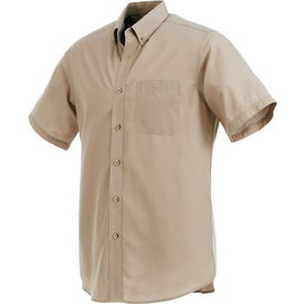 Colter Short Sleeve Shirt by TRIMARK Printed with Your Logo