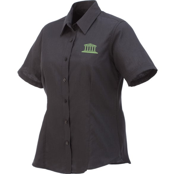 Black Colter Short Sleeve Shirt by TRIMARK