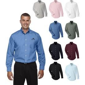 Devon & Jones Crown Collection Solid Broadcloth Shirt (Men's)