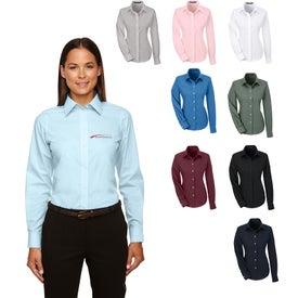 Devon & Jones Crown Collection Solid Broadcloth Shirt (Women's)