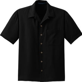 Port Authority Signature Silk Blend Camp Shirt Branded with Your Logo