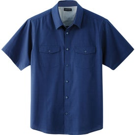 Sanchi Short Sleeve Shirt by TRIMARK Printed with Your Logo